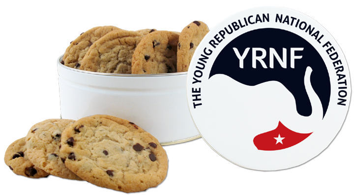 YRNF Bamboo Canister™ with All-American Chocolate Chip Cookies