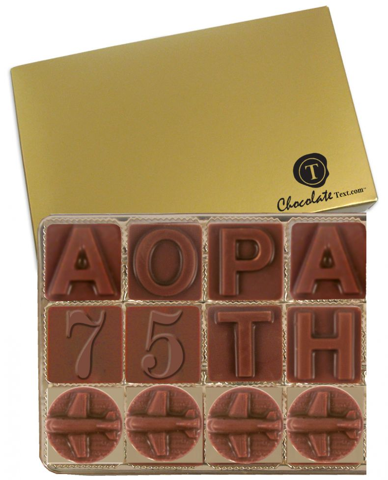 Chocolate Text - AOPA- [min. apply]