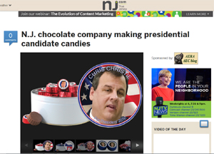 Chocolect featured in The Star-Ledger/NJ.com