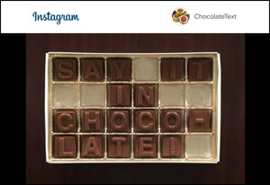 ChocolateText Prom Invite Instagram video