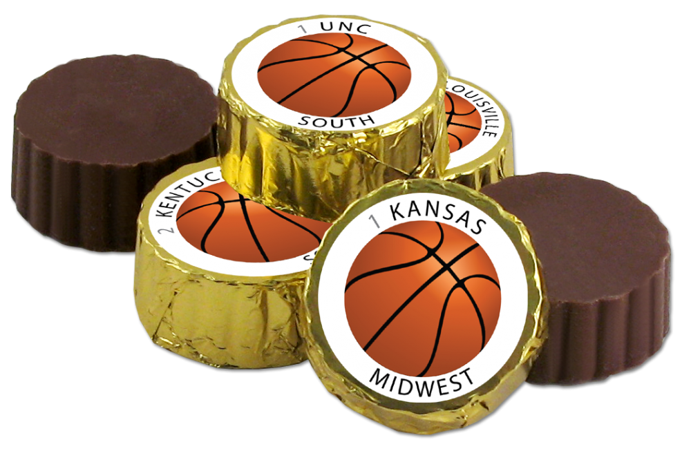 Chocolate Text - Choctology™ - The Sweetest Single Elimination Bracket Game <strong>SOUTH & MIDWEST Brackets Only</strong>